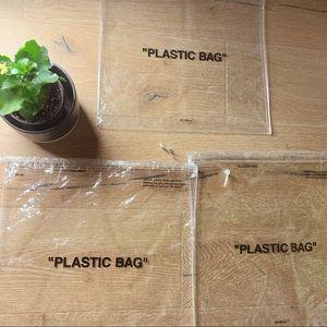 """✅ OFF WHITE """"Plastic Bags"""" ✅ (quantity: 3)"""